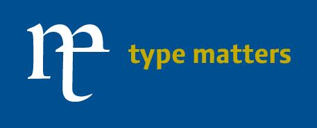 type matters Logo